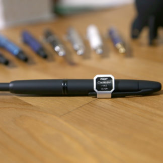 Pilot Capless Fountain Pen – Black Matte