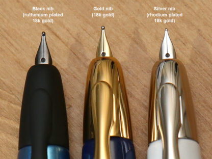 Pilot Capless Nib Types