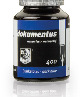 Rohrer & Klingner dokumentus Waterproof Ink – Dark Blue
