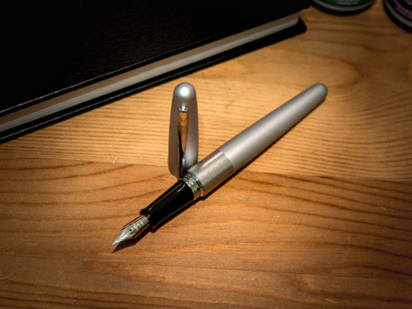 Pilot Metropolitan Fountain Pen – Silver Dots