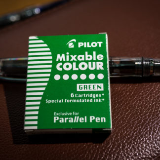 Pilot Parallel Pen Ink Cartridges (Set of 6) – Green