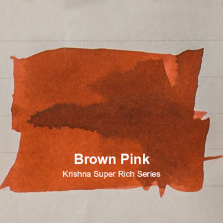 Krishna Inks Super Rich Series – Brown Pink